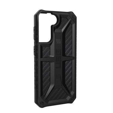 UAG Samsung Galaxy S21 Monarch Carbon Fiber Case - Black