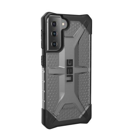 UAG Samsung Galaxy S21 Plasma Rugged Case - Ice