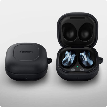Spigen Samsung Galaxy Buds Pro Earphones Silicone Case - Black