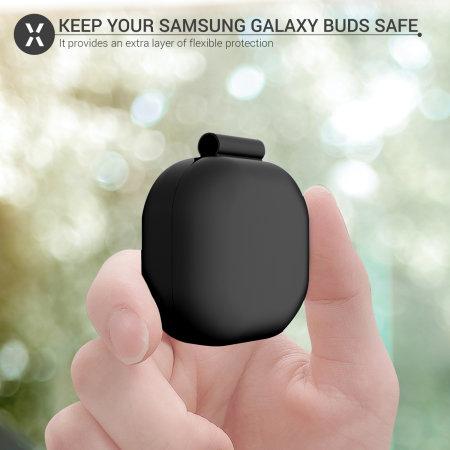 Olixar Samsung Galaxy Buds Live Silicone Case - Black
