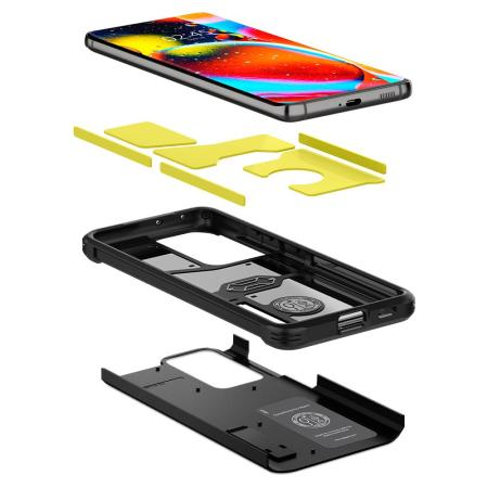 Spigen Samsung Galaxy S21 Ultra Tough Armor Rugged Case - Black