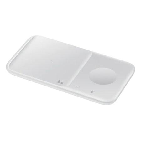 Official Samsung Duo 2 9W Wireless Charging Pad & UK Plug - White