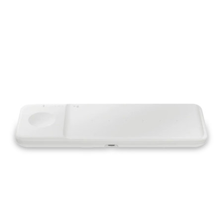 Official Samsung Galaxy S21 Ultra Wireless Trio Charger - White