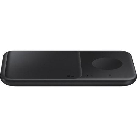 Official Samsung S21 Plus Duo 2 9W Charging Pad & UK Plug - Black