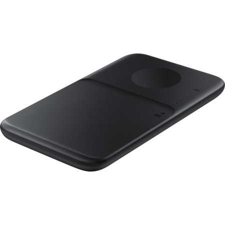 Official Samsung S21 Ultra Duo 2 9W Charging Pad & UK Plug - Black