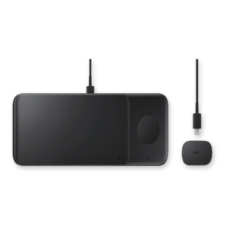Official Samsung Galaxy S21 Wireless Trio Charger - Black