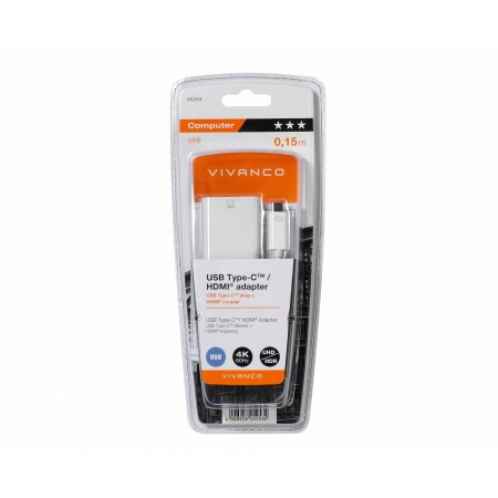 Vivanco Samsung Galaxy S21 Ultra USB-C To HDMI 4K 60Hz Adapter - White