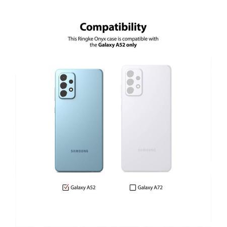 Ringke Onyx Samsung Galaxy A52 Protective Case - Navy