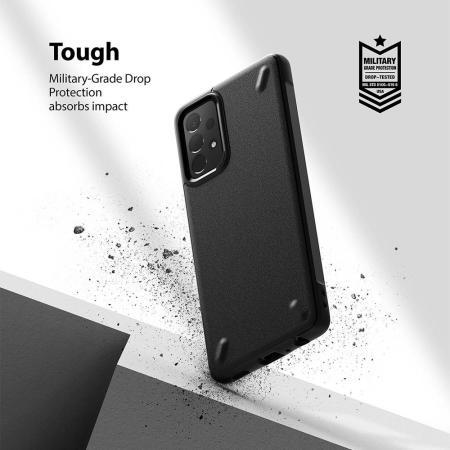Ringke Onyx Samsung Galaxy A72 Protective Case - Navy