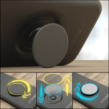 OtterBox Pop Symmetry Samsung Galaxy S21 Case - Black