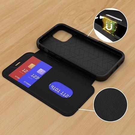 OtterBox Strada Series Samsung Galaxy S21 Plus Wallet Case - Black