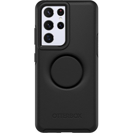 OtterBox Pop Symmetry Samsung Galaxy S21 Ultra Case - Black
