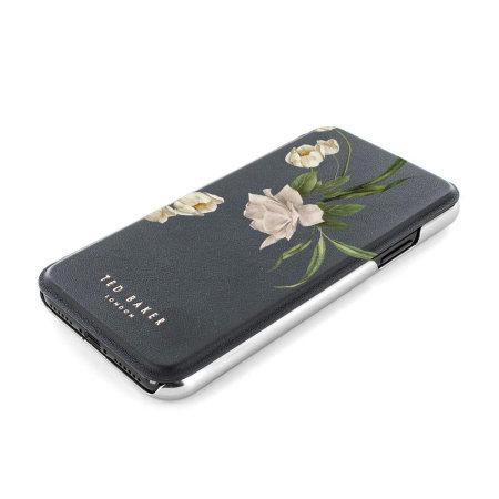 Ted Baker Elderflower Samsung Galaxy S21 Ultra Folio Case - Black
