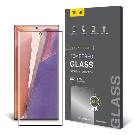 Olixar Samsung Note 20 Glass Screen Protector & 2 Camera Protectors