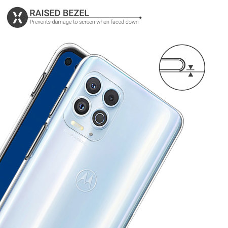 Olixar Flexishield Motorola Moto Edge S Case - 100% Clear
