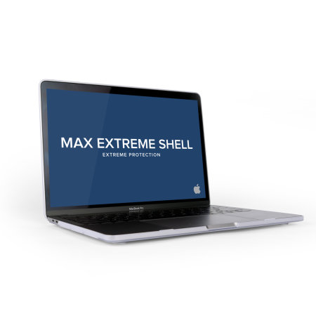 """MaxCases SnapShell MacBook Pro 13"""" 2018 Protective Case - Clear"""