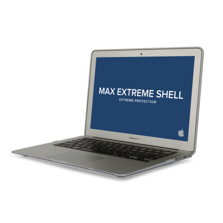 "MaxCases SnapShell MacBook Air 13"" 2018 Protective Case - Clear"