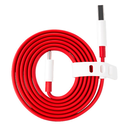 Official OnePlus 9 Pro Warp Charge USB-C Charging Cable - 1m - Red