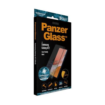 PanzerGlass Samsung Galaxy A72 Glass Screen Protector - Black