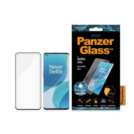 PanzerGlass OnePlus 9 Pro Glass Screen Protector - Black