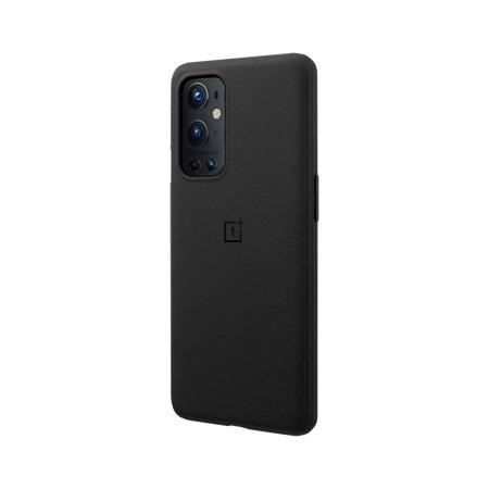 Official OnePlus 9 Pro Sandstone Bumper Case - Black
