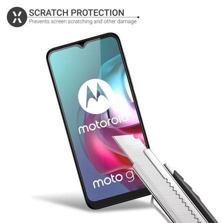 Olixar Motorola Moto G10 Film Screen Protectors - Two Pack