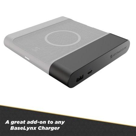 Scosche BaseLynx 18W PD USB-C & USB-A Dual Charging Ports EndCap