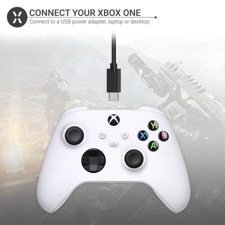 Olixar Xbox One USB-C Charging Cable - Black - 3m