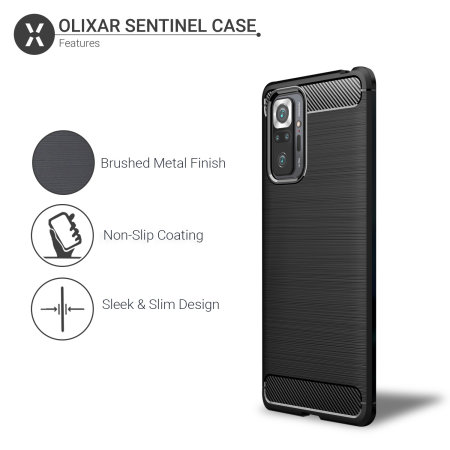 Olixar Sentinel Xiaomi Redmi Note 10 Pro Max Case & Screen Protector