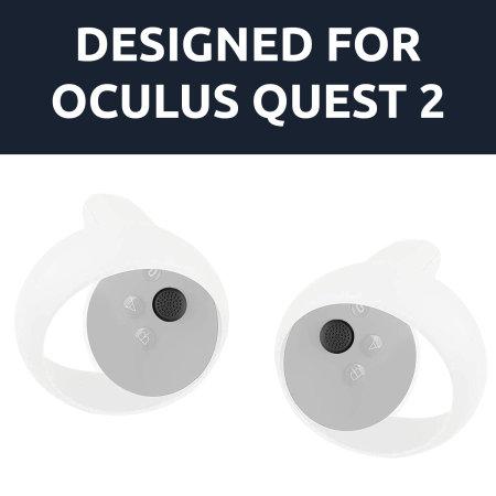 Olixar Oculus Quest / Quest 2 Anti-Throw Protective Sleeve - Black
