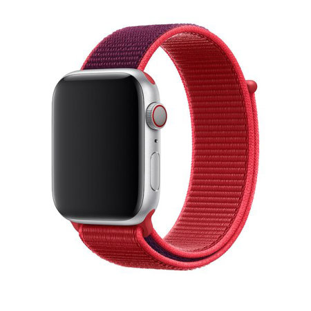Official Apple Watch Sport Loop Strap 40mm - (PRODUCT) Red
