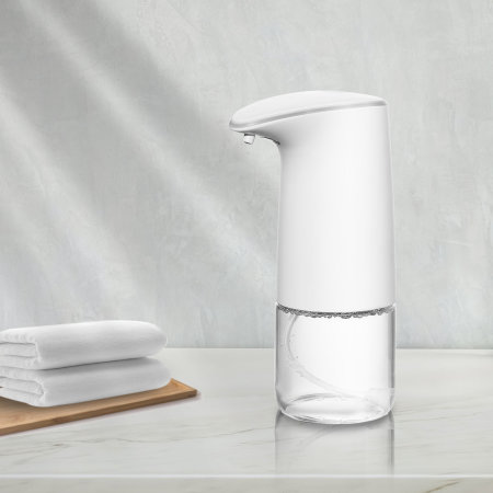 XO Automatic Touch Free Soap Dispenser - 0.45L - White