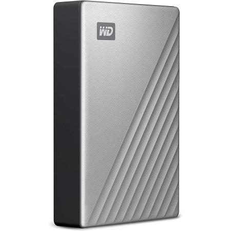 Western Digital My Passport Ultra PC & Gaming 1TB External HDD- Silver