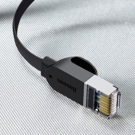Baseus RJ45 Cat 6 Ethernet Cable - 8m - Black