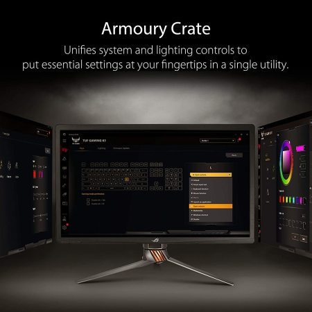 Asus TUF Gaming K1 RGB Keyboard - Black