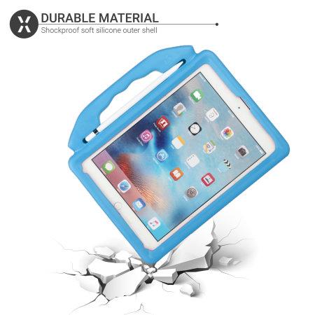 "Olixar iPad Air 2 9.7"" 2014 2nd Gen. Child-Friendly Handle Case - Blue"