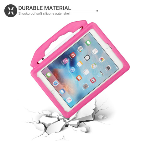 Olixar iPad Air 1 2013 Protective Silicone Case - Rose Red