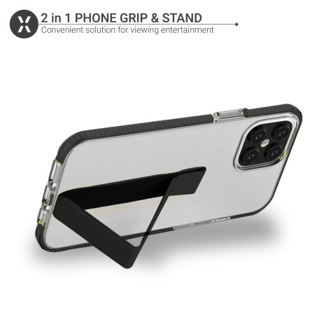 Olixar Phone Grip & Stand - Black
