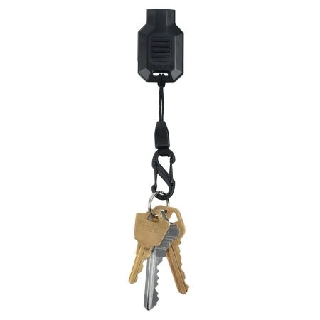 Nite Ize Radiant Squeeze LED Key Chain Flashlight With S-Biner - Black