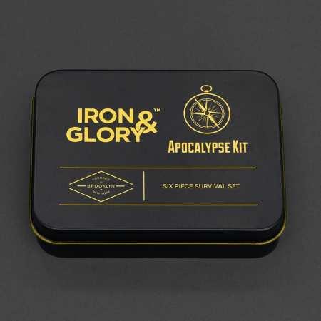 Luckies Portable & Compact Outdoor Apocalypse Survival Kit - 6 Pieces