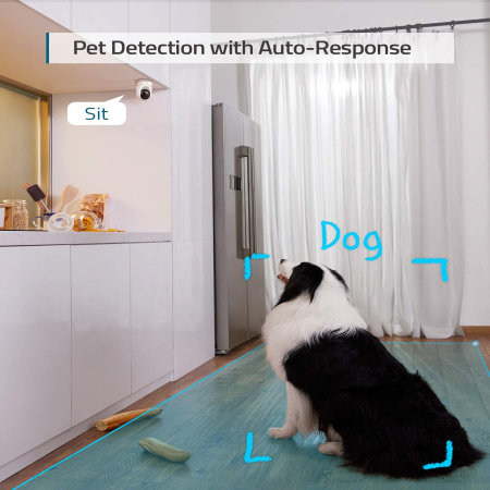 Eufy Pet Monitoring Indoor Day & Night Motion Sensing 2k Security Cam