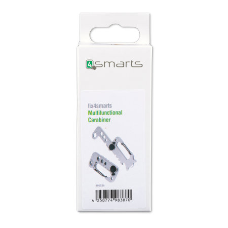Fix4Smarts Compact & Portable 10 in 1 Multitool - Silver