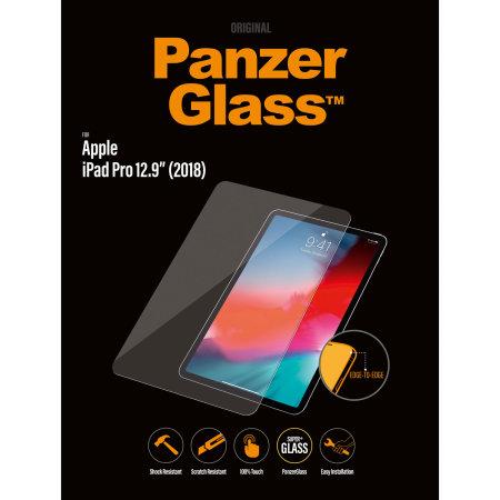 """PanzerGlass iPad Pro 12.9"""" 2018 3rd Gen. Glass Screen Protector"""
