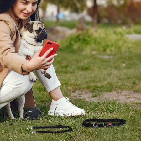 2-in-1 Adjustable Dog Safety Seat Belt Harness & Restraint Lead