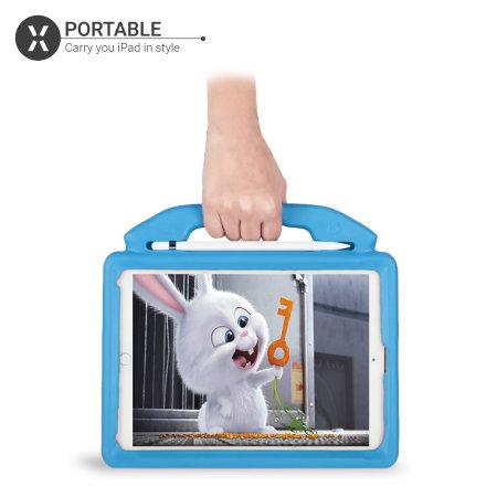 "Olixar iPad 9.7"" 2018 6th Gen. Child-Friendly Handle Case - Blue"