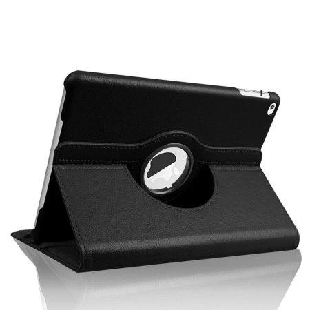 "iPad 9.7"" 2017 5th Gen. 360° Rotation Stand Flip Case - Black"