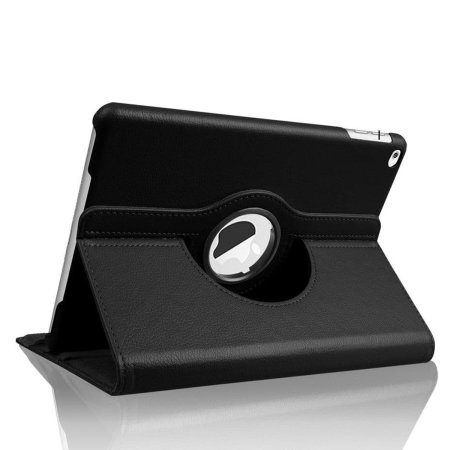 "iPad 9.7"" 2018 6th Gen. 360° Rotation Stand Flip Case - Black"