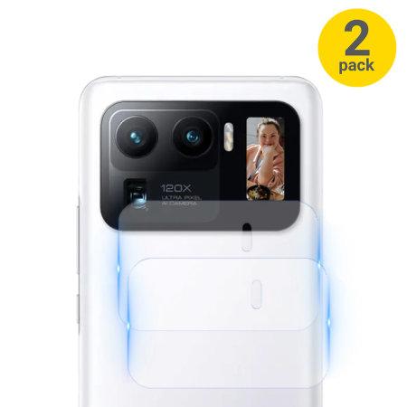 Olixar Xiaomi Mi 11 Ultra Camera Protectors - Two Pack