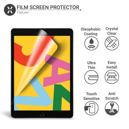 "Olixar iPad 10.2"" 2019 7th Gen. Film Screen Protector 2-in-1 Pack"