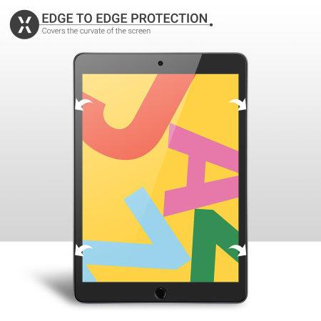 "Olixar iPad 10.2"" 2020 8th Gen. Film Screen Protector - 2 Pack"